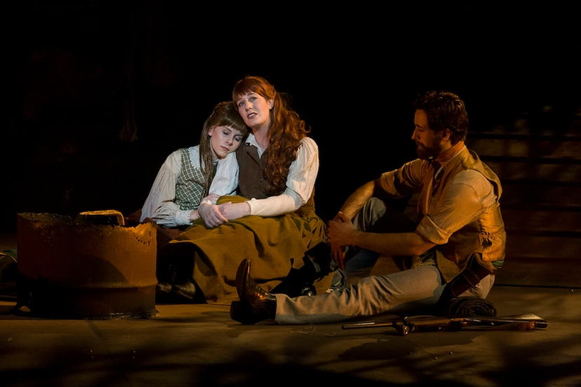Ned Kelly Musical, Hannah Fredericksen, Alana Tranter, Nelson Gardner