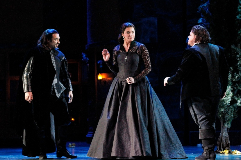 Opera Australia 2015 DON CARLOS, Jose Carbo, Victoria Yastrebova, DIego Torre