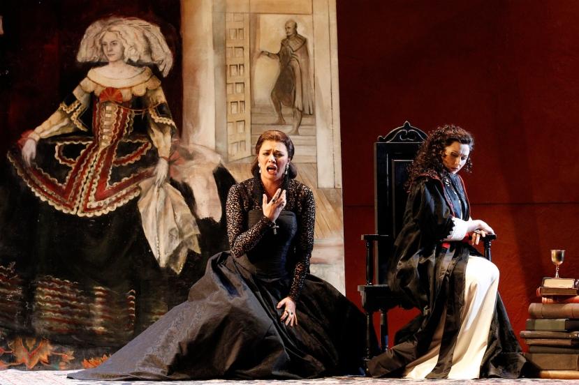 Opera Australia 2015 DON CARLOS, Milijana Nikolic, Victoria Yastrebova