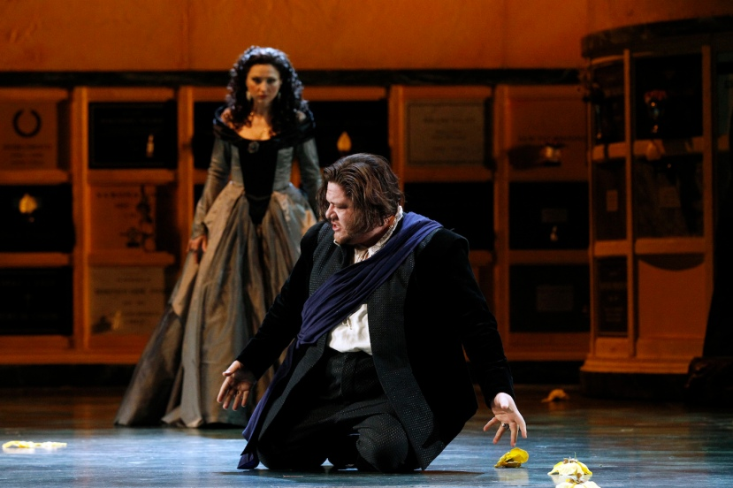 Opera Australia 2015 DON CARLOS, Victoria Yastrebova, Diego Torre