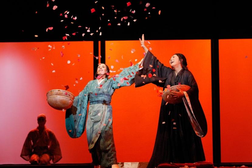 Opera Australia, MADAMA BUTTERFLY, 2015, Hiromi Omura and Sian Pendry