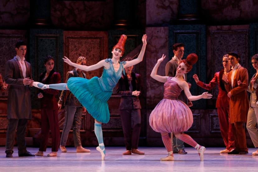 Cinderella, The Australian Ballet, Melbourne 2015, Ingrid Gow, Eloise Fryer in Cinderella