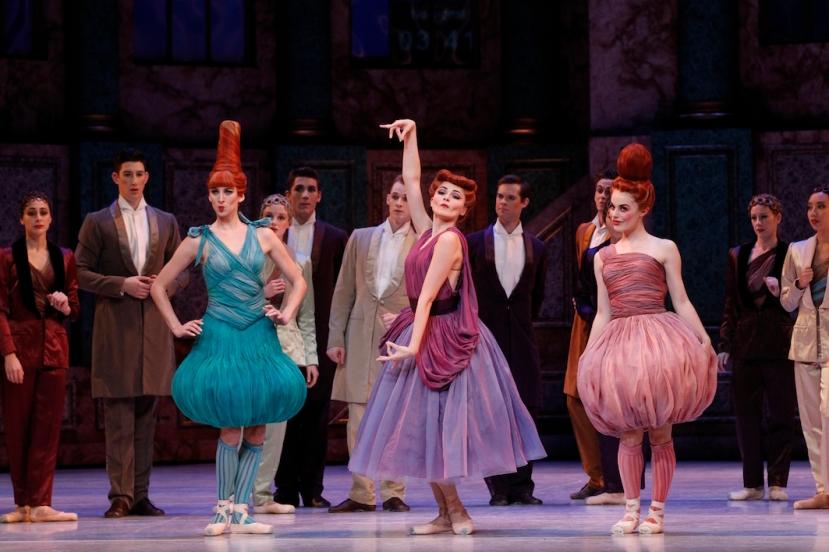 Cinderella, The Australian Ballet, Melbourne 2015, Ingrid Gow, Valerie Tereshchenko, Eloise Fryer