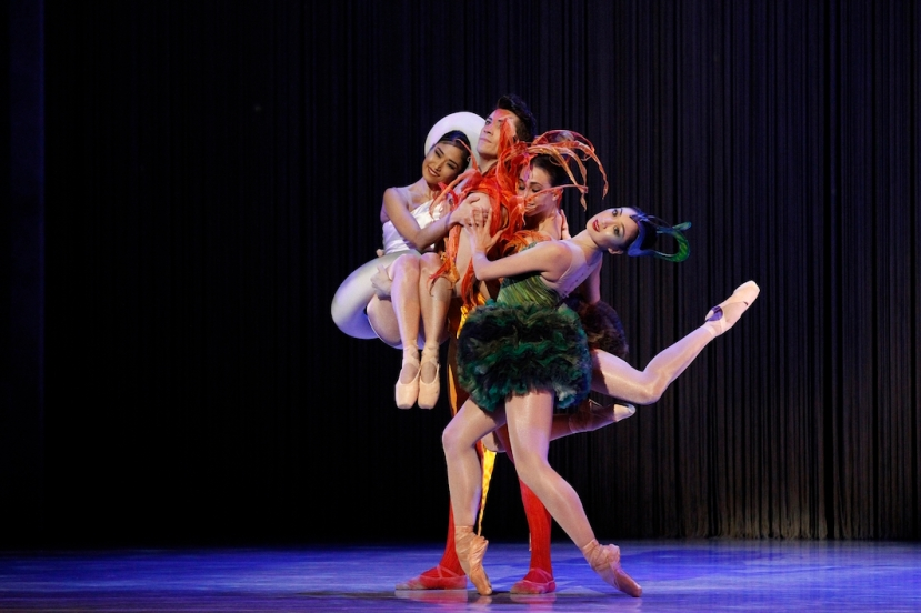 Cinderella, The Australian Ballet, Melbourne 2015, Miwako Kubota, Brett Simon, Dimity Azoury, Natasha Kusen