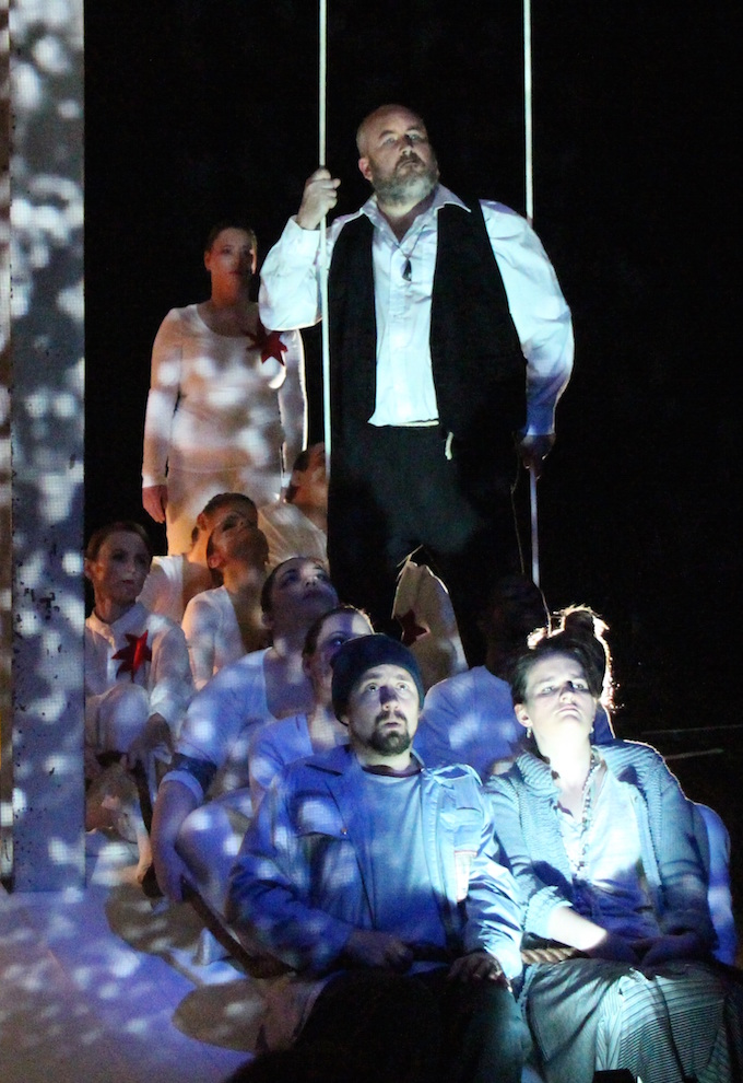 Curlew River Gertrude Opera, Adrian McEniery