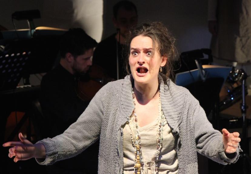 Curlew River Gertrude Opera, Agathe de Courcy