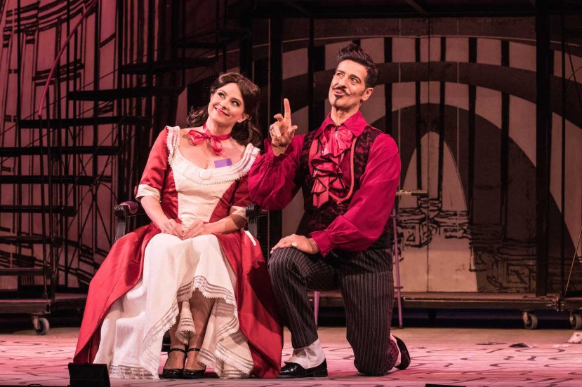 The Barber of Seville 2015 Melbourne Opera, Sally-Anne Russell as Rosina and Phillip Calcagno as Figaro