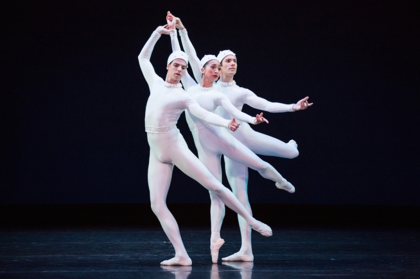 The Dream, The Australian Ballet, Jared Wright, Natasha Kusen, Brett Simon in Monotones II