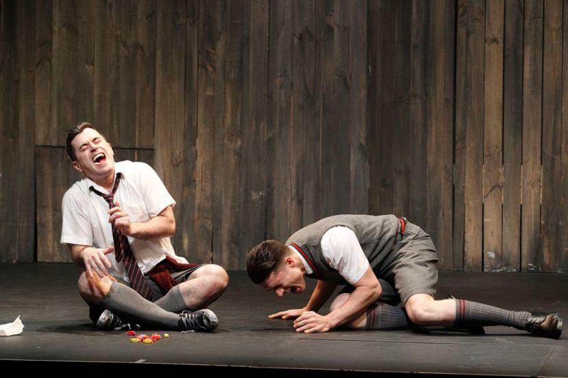Blood Brothers Melbourne 2015 Bobby Fox, Josh Piterman