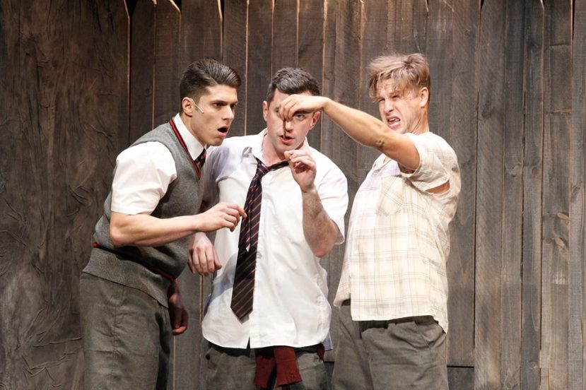 Blood Brothers Melbourne 2015 Josh Piterman, Bobby Fox, Jamie Kristian