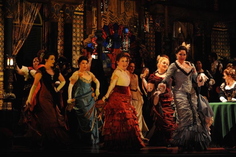 la traviata 2015 opera australia, female chorus