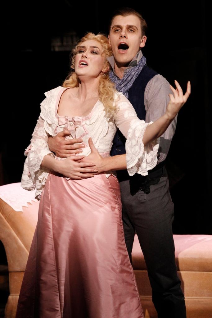 Sweeney Todd 2015 Victorian Opera, Amelia Berry, Blake Bowden