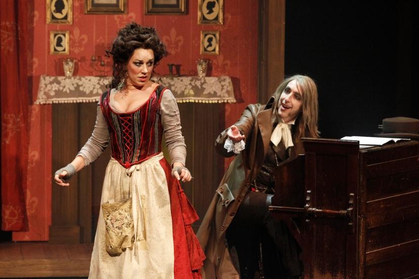 Sweeney Todd 2015 Victorian Opera, Antoinette Halloran, Kanen Breen