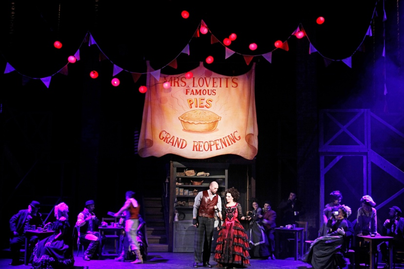 Sweeney Todd 2015 Victorian Opera, More hot pies
