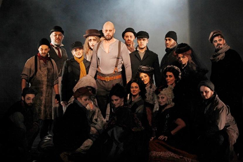 Sweeney Todd 2015 Victorian Opera, Teddy Tahu Rhodes and company