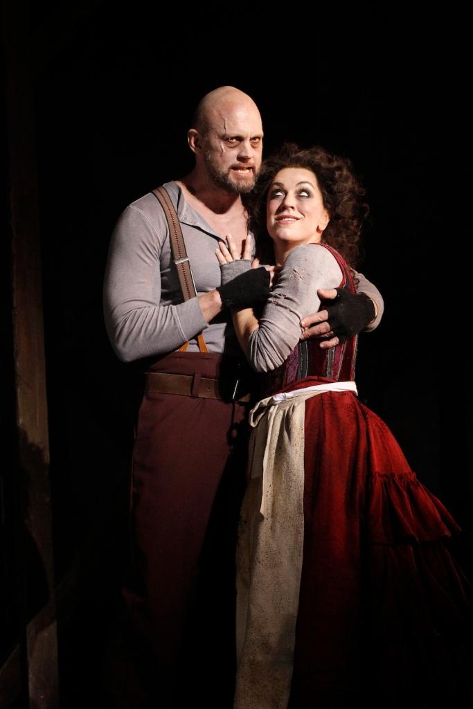 Sweeney Todd 2015 Victorian Opera, Teddy Tahu Rhodes, Antoinette Halloran