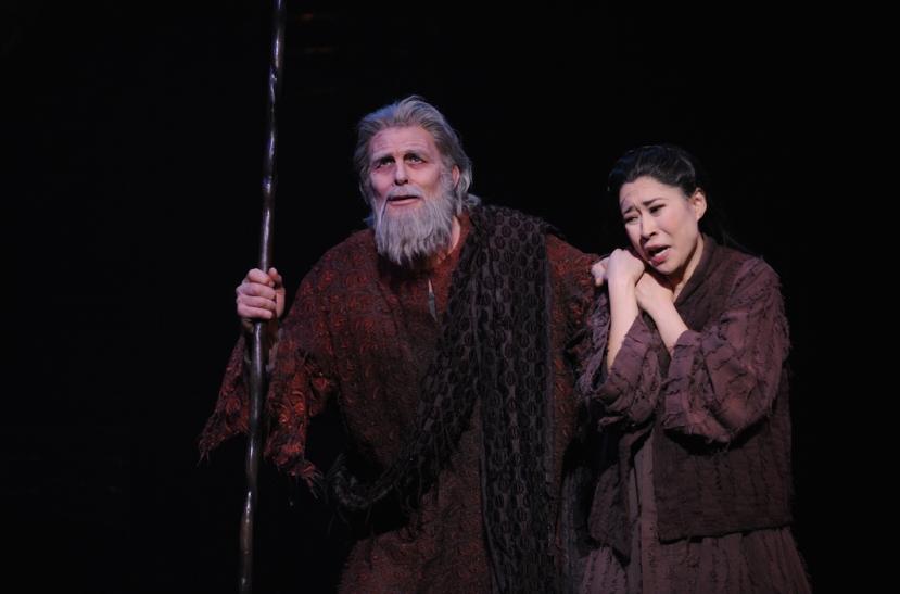 Turandot 2015 Opera Australia, Jud Arthur, Hyeseoung Kwon
