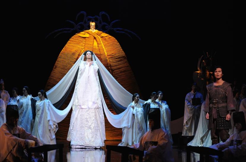 Turandot 2015 Opera Australia, Lise Lindstrom, Yonghoon Lee
