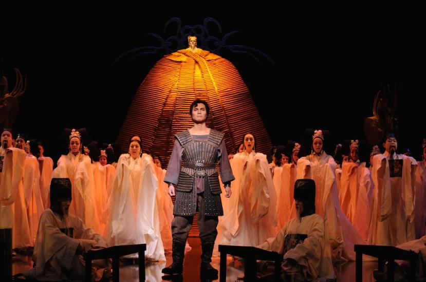 Turandot 2015 Opera Australia Yonghoon Lee as Calaf