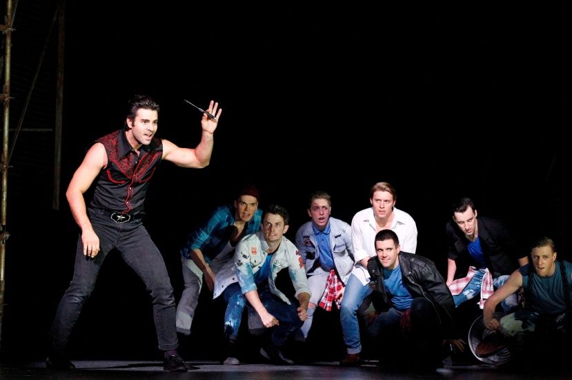 West Side Story, 2015, The Production Company, Adam Fiorentino, Gareth Keegan, Sharks