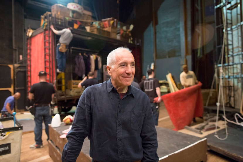 Vaudeville consultant Emil Wolk backstage at the Metropolitan Opera House in New York, March 21, 2015. © Sara Krulwich/The New York Times/Headpress SUPPLIED FOR STORIES SLUGGED TO THE VICTORIAN OPERA ONLY. ANY OTHER USE PROHIBITED. NO USE PERMITTED AFTER 18 September 2015. LICENSE FEES APPLY for USE AFTER 18 SEPTEMBER 2015 - PLEASE CONTACT HEADPRESS on 02 93802610