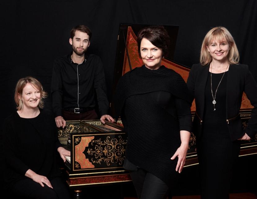 MVA Victorian Opera Phoebe Briggs, Jeremy Kleeman, Emma Matthews, Sally Anne Russell Melbourne May 2015