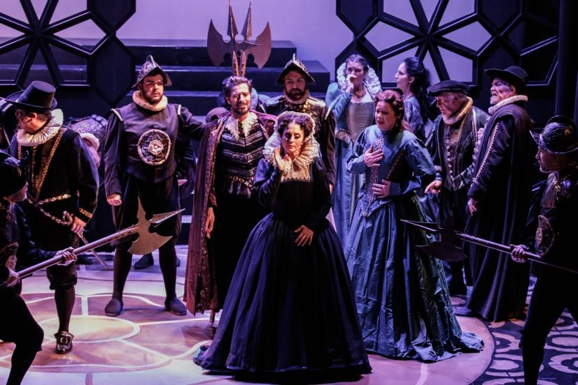 Mary Stuart, Melbourne Opera, Phillip Calcagno, Elena Xanthoudakis, Caroline Vercoe