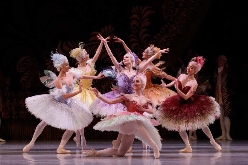 The Sleeping Beauty 2015 The Australian Ballet, Amber Scott and Fairies