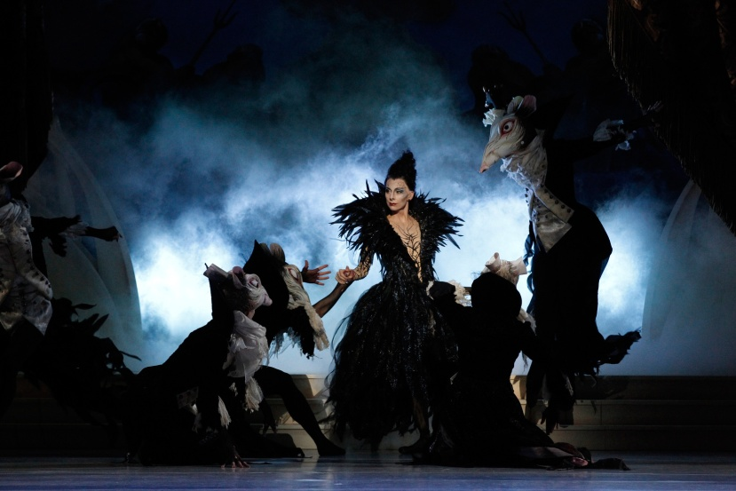 The Sleeping Beauty 2015 The Australian Ballet, Lynette Wills, Carabosse and-Rats