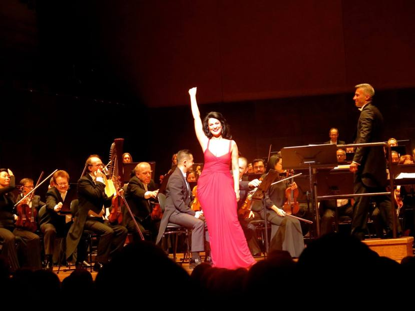 Angela Gheorghiu concert 2015 Melbourne