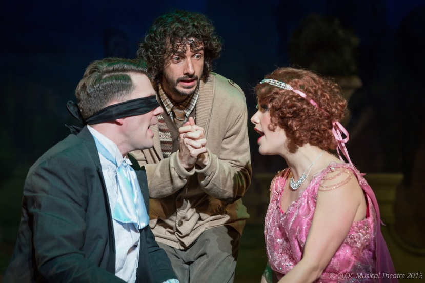 The Drowsy Chaperone 2015 CLOC Musical Theatre, Blair Salmon, Tony Burge, Michelle Hunt