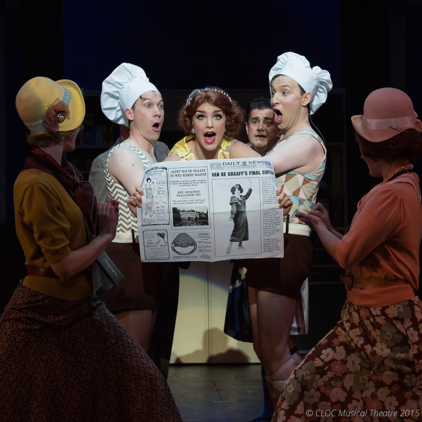 The Drowsy Chaperone 2015 CLOC Musical Theatre, Show Off
