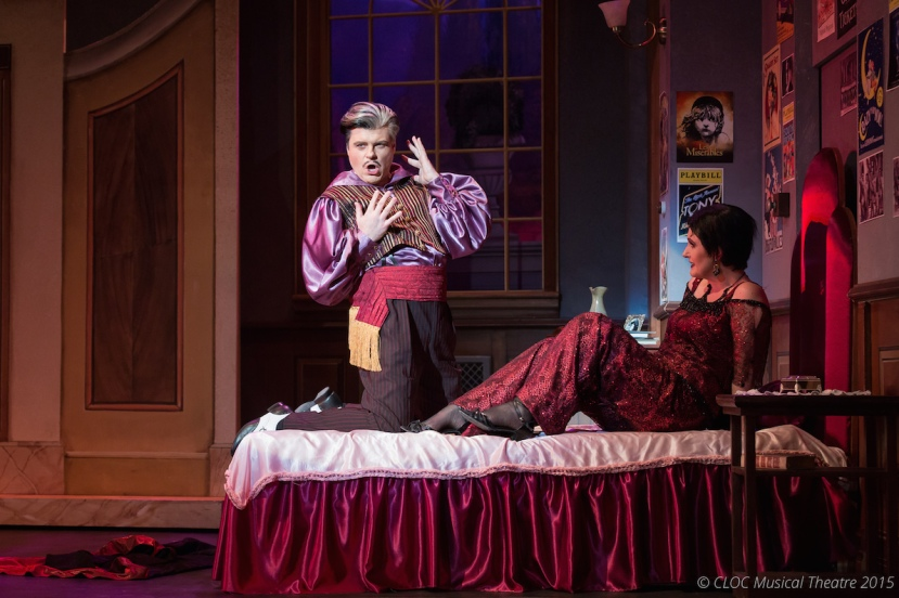 The Drowsy Chaperone 2015 CLOC Musical Theatre, Tim Minturn, Pam Christie Birkett