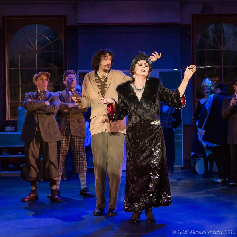 The Drowsy Chaperone 2015 CLOC Musical Theatre, Tony Burge, Pam Christie Birkett