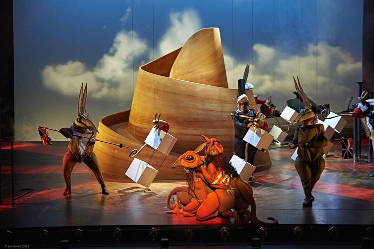 'The Rabbits' Barking Gecko Theatre Company / Opera Australia - 2015 Production - 10th February 2015 / Photography © Jon Green 2015 - All Rights Reserved