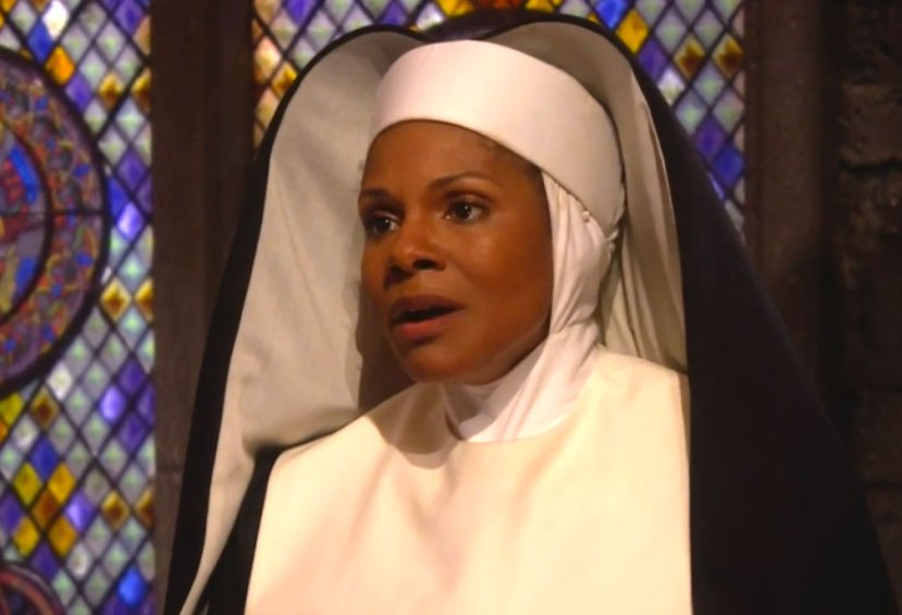 Audra Mcdonald as Mother Abbess in The Sound of Music Live