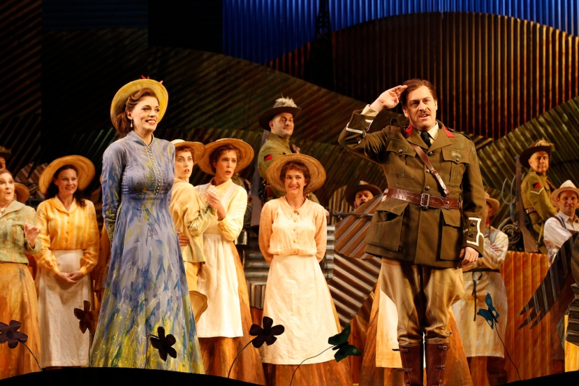 The Elixir of Love 2015 Opera Australia, Rachelle Durkin, Christopher Hillier