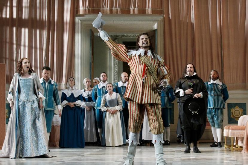 The Marriage of Figaro 2015 Opera Australia, Jane Ede, Shane Lowrencev