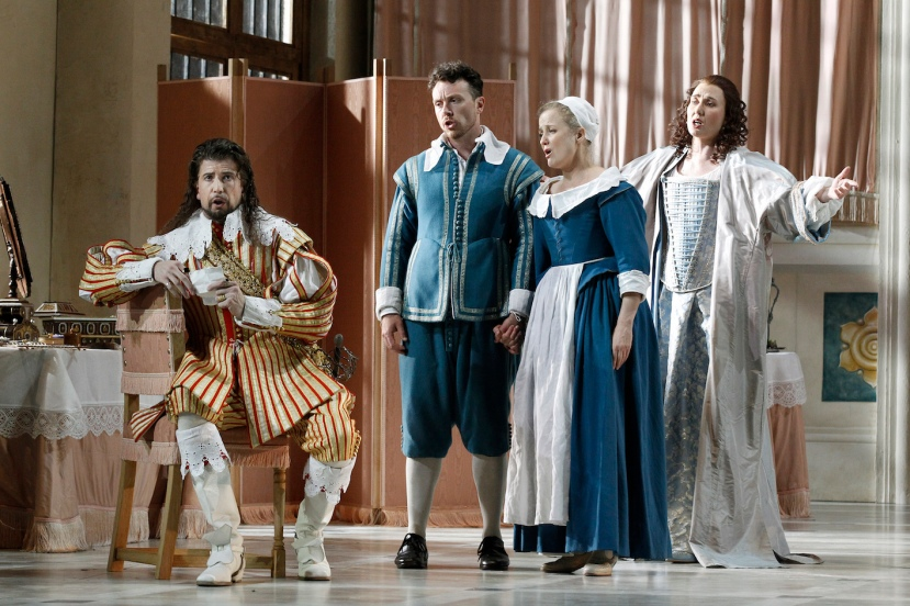 The Marriage of Figaro 2015 Opera Australia, Shane Lowrencev, Andrew Jones, Taryn Fiebig, Jane Ede