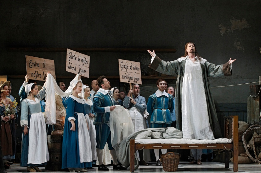 The Marriage of Figaro 2015 Opera Australia, Taryn Fiebig, Andrew Jones, Shane Lowrencev