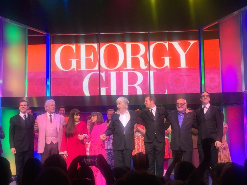 Georgy Girl opening night, cast and The Seekers