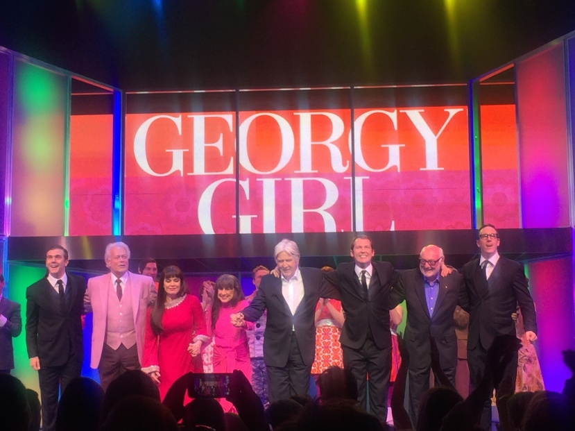 Georgy Girl opening night, The Seekers with cast