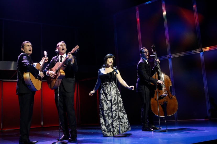 Georgy Girl - The Seekers Musical, Phillip Lowe, Mike McLeish, Pippa grandison and Glaston Toft