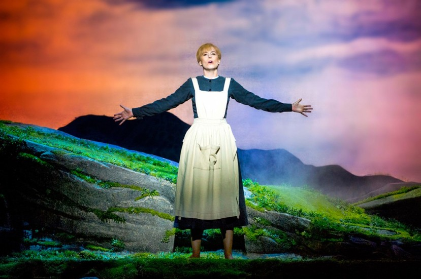 The Sound of Music 2015 Australia, Amy Lehpamer as Maria