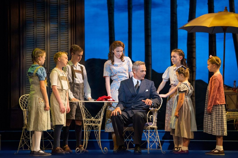The Sound of Music 2015 Australia, Captain von Trapp and children