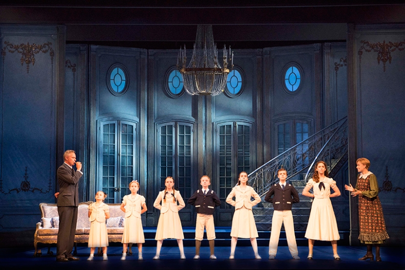 The Sound of Music 2015 Australia, Captain von Trapp whistles for the chidren