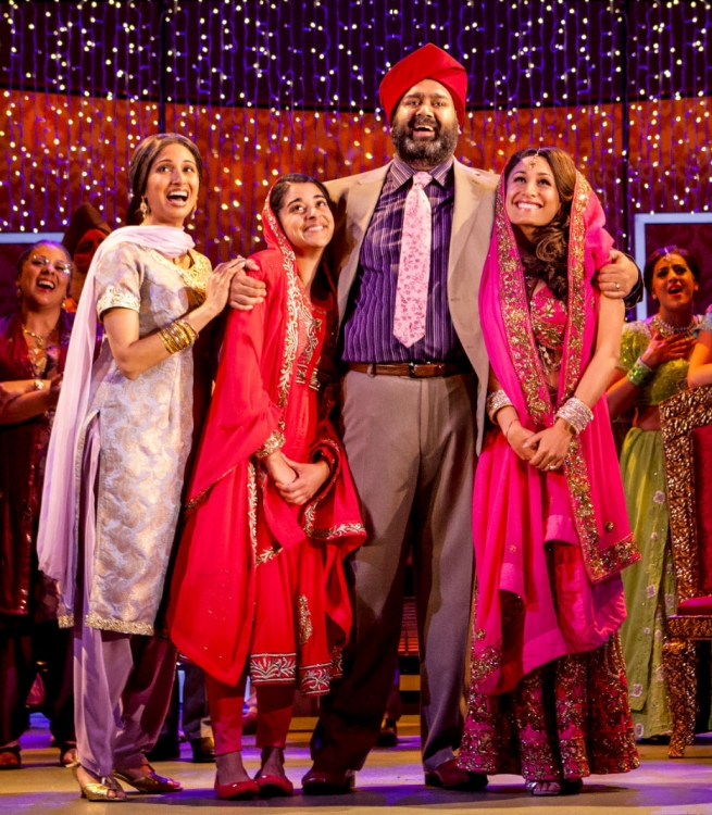Bend It LIke Beckham The Musical, Natasha Jayetileke, Natalie Dew, Tony Jayawardena, Preeya Kalidas