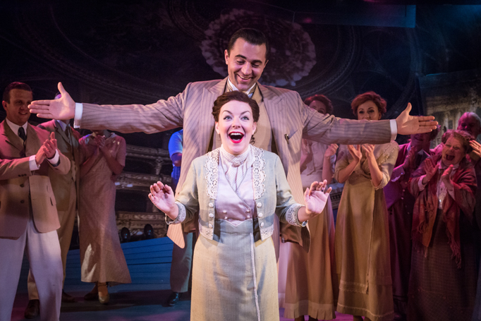 Funny Girl 2016 London, Darius Campbell and Sheridan Smith