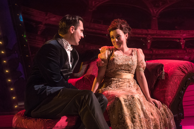 Funny Girl 2016 London, Darius Campbell as Nick Arnstein, Sheridan Smith as Fanny Brice