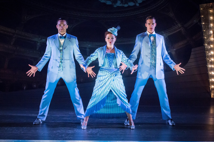 Funny Girl 2016 London, Matthew Croke, Sheridan Smith, Luke Fetherstonjpg